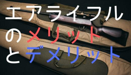 狩猟で使う空気銃(エアライフル)とは?そのメリットとデメリットを解説