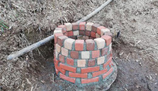 【DIY】レンガを使ったお洒落な井戸囲いの作り方。モルタルとコンクリートの違いや注意点についても解説